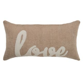 "Rizzy Home ""Love"" Throw Pillow"