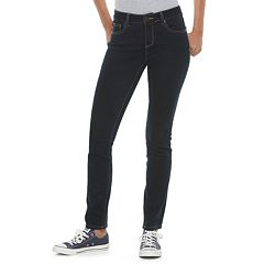 Juniors' SO® Perfectly Soft Embroidered Skinny Jeans