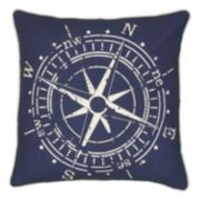Rizzy Home Compass Throw Pillow