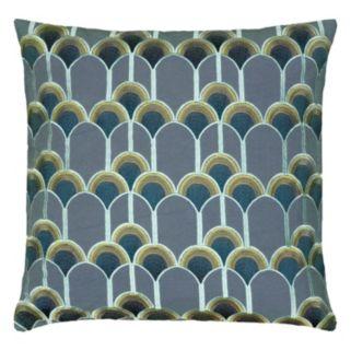 Rizzy Home Peacock Throw Pillow