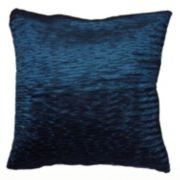 Rizzy Home Deep Blue Throw Pillow
