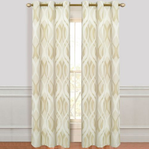 "Dainty Home 2-pack Metropolitan Curtains – 38"" x 84"""