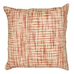 Rizzy Home Plaid Throw Pillow