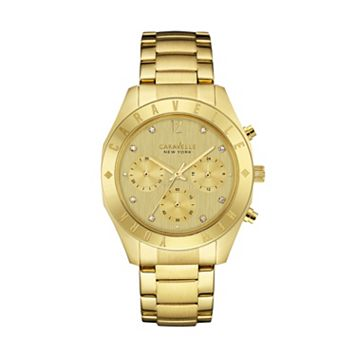 Caravelle New York by BulovaWomen's Crystal Stainless Steel Chronograph Watch - 44L213