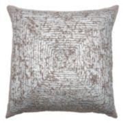 Rizzy Home Metallic Throw Pillow