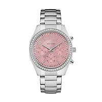 Caravelle New York by Bulova Women's Crystal Stainless Steel Chronograph Watch - 43L191