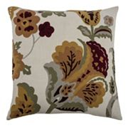 Rizzy Home Vintage Floral Throw Pillow