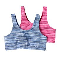 Girls SO® 2 pkSpace-Dyed Sports Bras
