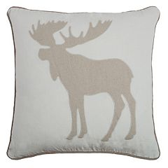 Rizzy Home Moose Throw Pillow