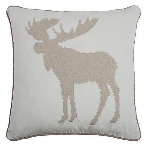 Kohls Moose Throw Pillow : Rizzy Home Moose Throw Pillow