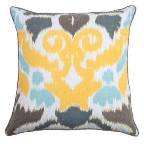 Rizzy Home Ikat Throw Pillow