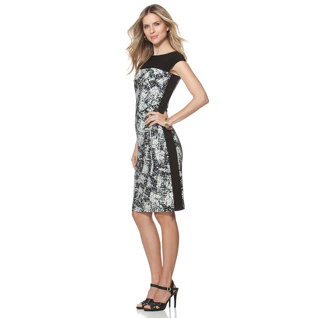Women's Chaps Colorblock Sheath Dress