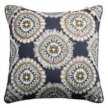 Rizzy Home Fringe Pattern Throw Pillow