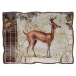 "Certified International Rustic Nature 16"" x 12"" Rectangular Serving Platter"