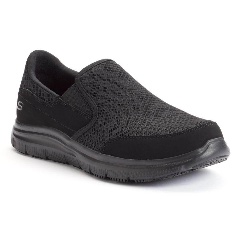 Skechers Work Relaxed Fit Flex ... Advantage McAllen Men's Slip-Resistant Shoes