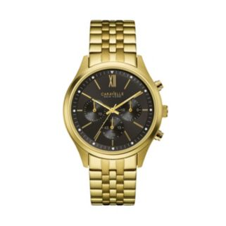 Caravelle New York by Bulova Men's Stainless Steel Chronograph Watch - 44A108