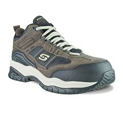 Skechers Relaxed Fit Soft Stride Canopy Men's Work Shoes