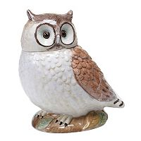 Certified International Rustic Nature Owl 10-in. Cookie Jar