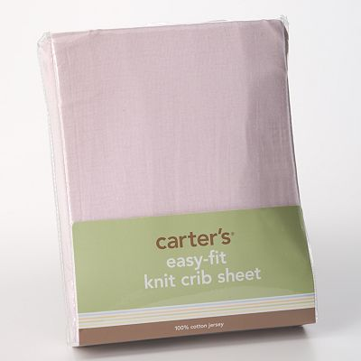 Carter's Easy-Fit Knit Crib Sheet