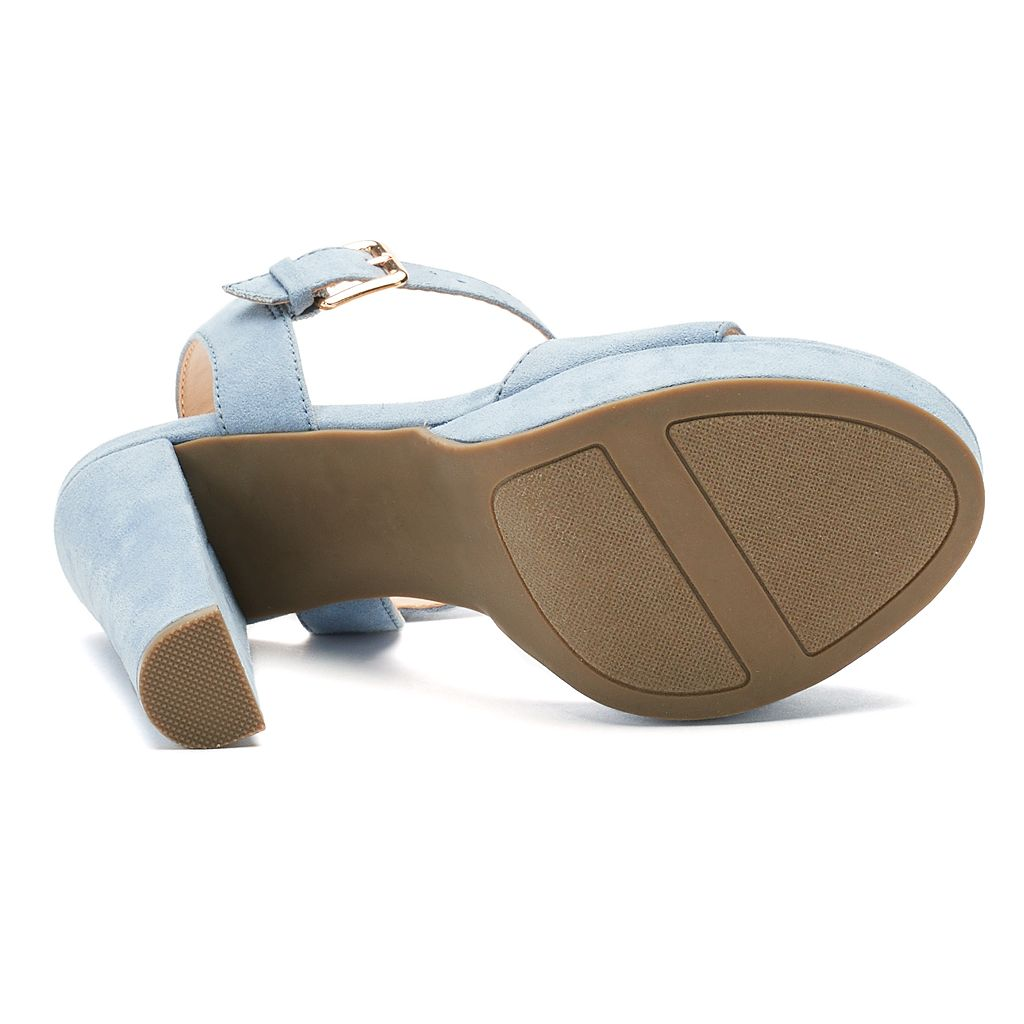 LC Lauren Conrad Bow Women's High Heel Sandals