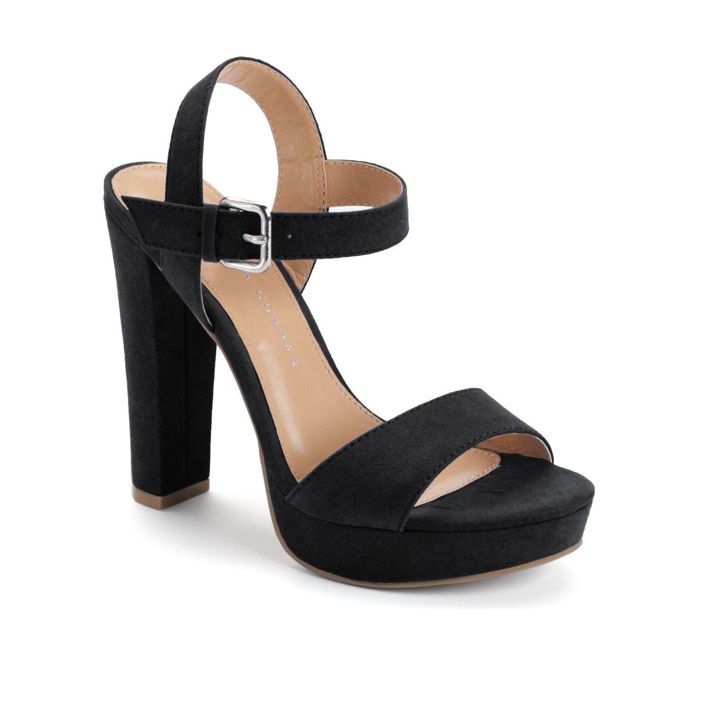 Black High Heel Sandals oHEFZzpY