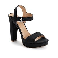 LC Lauren Conrad Bow Women's High Heel Sandals