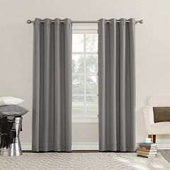 Sun Zero 1-Panel Emden Energy Efficient Triple Lined Window Curtain