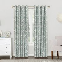 Sun Zero Claudine Blackout Lined Curtain