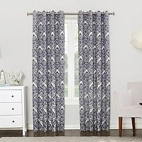 Sun Zero Claudine Blackout Lined Window Curtain