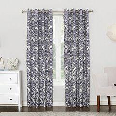 Sun Zero Claudine Blackout Lined Window Curtain