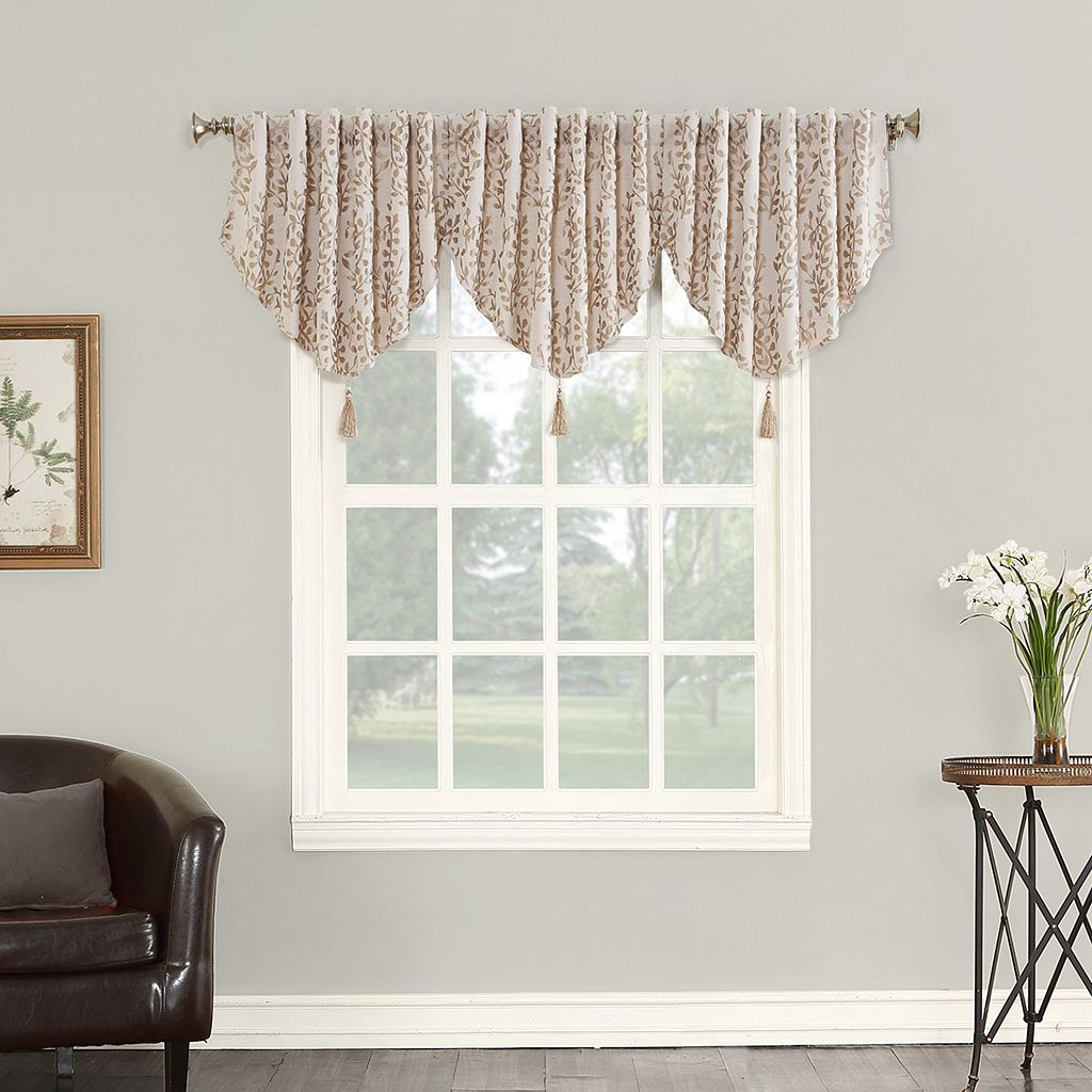 Sun Zero Rochelle Blackout Lined Window Valance