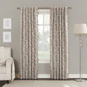 Sun Zero Blackout 1-Panel Kavala Lined Window Curtain