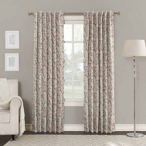 Sun Zero Blackout 1 Panel Kavala Lined Window Curtain