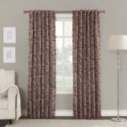 Sun Zero Blackout 1-Panel Kavala Lined Window Curtain