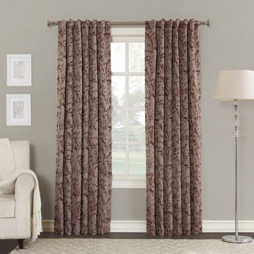 Sun Zero Kavala Blackout Lined Window Curtain