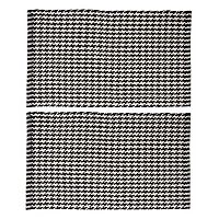 Chesapeake Portland Houndstooth 2 pc Rug Set