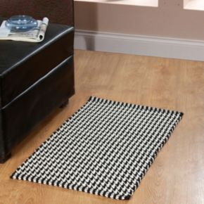 Chesapeake Portland Houndstooth 2-Piece Rug Set
