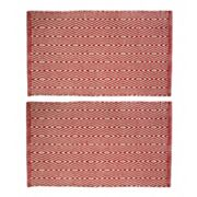 Chesapeake Portland Diamond Geometric 2 pc Rug Set