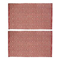 Chesapeake Portland Diamond Geometric 2-Piece Rug Set