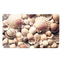 Splash Home Seashells Printed Mat