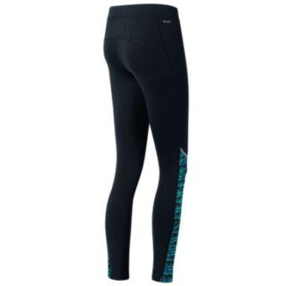 Women's New Balance Printed Accelerate Workout Leggings