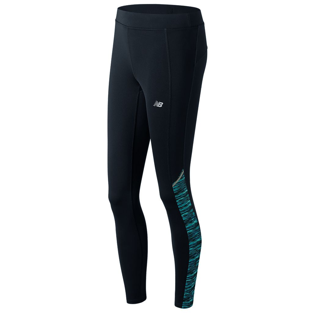 Women's New Balance Printed Accelerate Workout Leggings