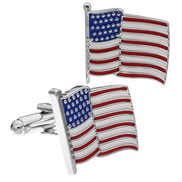 Croft & Barrow® Hoover American Flag Cuff Links