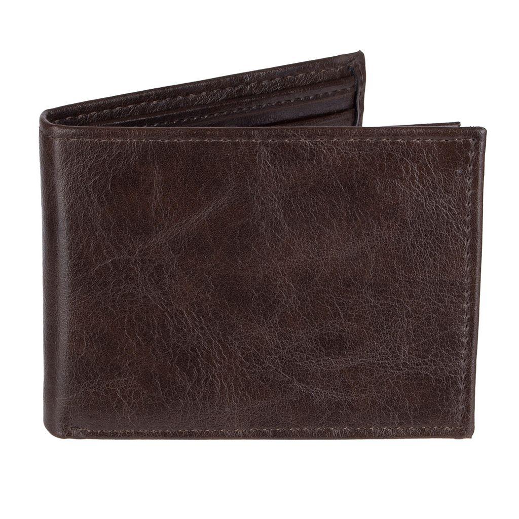 Men's Croft & Barrow® Extra-Capacity Slimfold Wallet