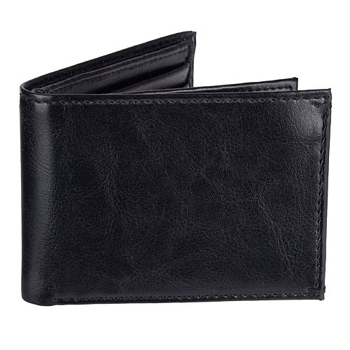 Men's Croft & Barrow® Extra-Capacity Slimfold Wallet