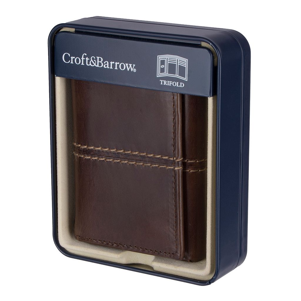 Men's Croft & Barrow® Trifold Wallet