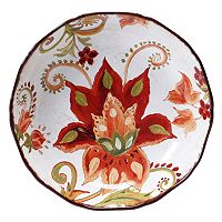 Certified International Spice Flowers 13.5-in. Pasta Serving Bowl