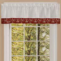 Achim Oakwood Window Valance - 58'' x 14''