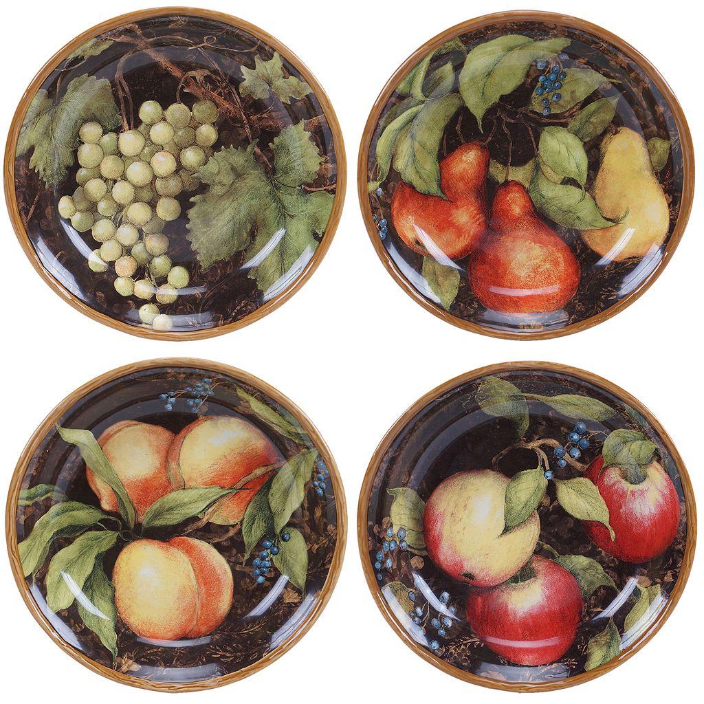 Certified International Capri 4-pc. Soup / Cereal Bowl Set