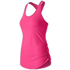 Women's New Balance The Perfect Shirred Racerback Workout Tank